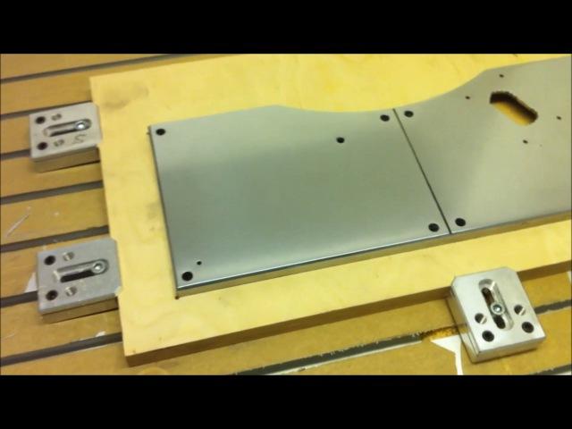 Позиционирование или фрезеровка алюминия!Positioning or milling of aluminum!