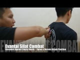 Evantai Silat ~ Spine & Nerves Attack Position with Karambit