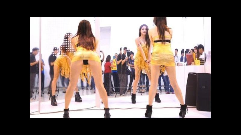 【無限HD】Hot Q Girls 熱舞 UpDown(4K 2160p)@2015高雄國際食品展