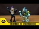 TMNT от Nikelodeon. Враги Черепашек-ниндзя Бибоп и Рокстеди от Playmates toys