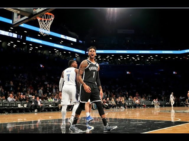 D'Angelo Russell Has Sick Crossover, Leads Nets to Win   17 points, 6 assists