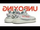 Unboxing и обзор новой расцветки adidas Yeezy Boost 350 V2 Blue Tint