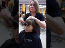 Сам себе парикмахер как подстроить ёлку дома начинающий парикмахер видео урок