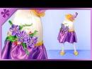 DIY How to make standing Easter egg spring lady ENG Subtitles Speed up 465