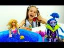 Барби и Джейн ПЛЯЖНАЯ ВЕЧЕРИНКА С МОРОЖЕНЫМ!🍦 Одевалки кукол ИгрыДляДевочек ...