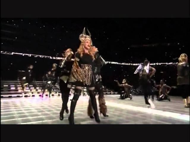 Madonna Half Time Show part 1 Super Bowl 2012 HD