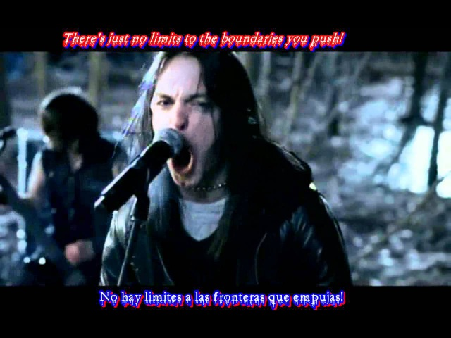 Bullet For My Valentine Waking The Demon Sub Español Ingles HD HQ (Good Quality and Sound)