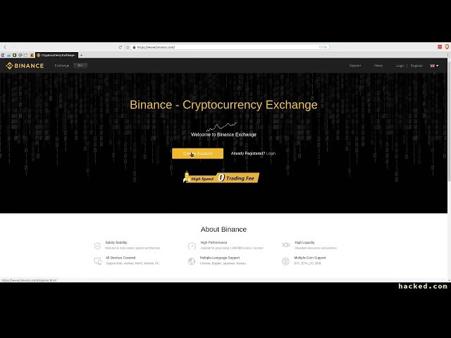 Binance Registro