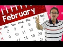 It's February | Calendar Song for Kids | Valentine's Day | Preschool Version | Jack Hartmann