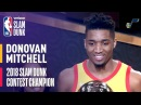 Verizon Slam Dunk Contest | Donovan Mitchell | NBA All-Star Weekend 2018