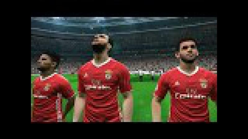 Besiktas vs Benfica   UEFA Champions League   Vodafone Arena   PES 2017 Full HD 1080p60