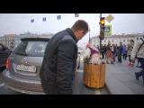 Пранк! Бабка на гироступе 3! ДТП в Питере