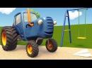 Развивающие мультики про машинки Синий Трактор Гоша - Все серии - Учимся считать, запоминаем цвета