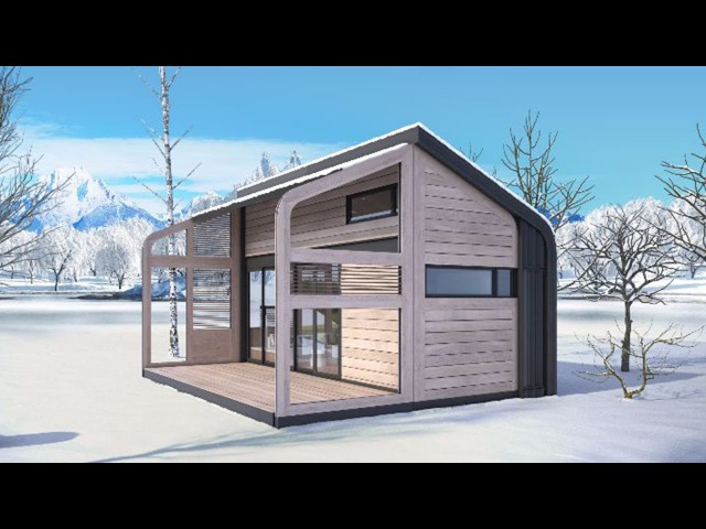Foldable Tiny House Concept by Salt and Water | Beautiful Tiny House