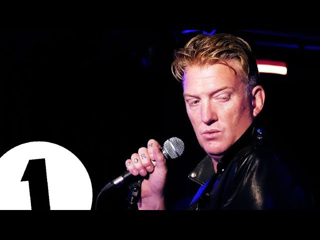 Queens of the Stone Age - Bad Boy (Marty Wilde cover) - Radio 1's Piano Sessions