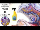 Can FLUID ART get CELLS with Rain-X? More MESMERIZING Acrylic Pouring