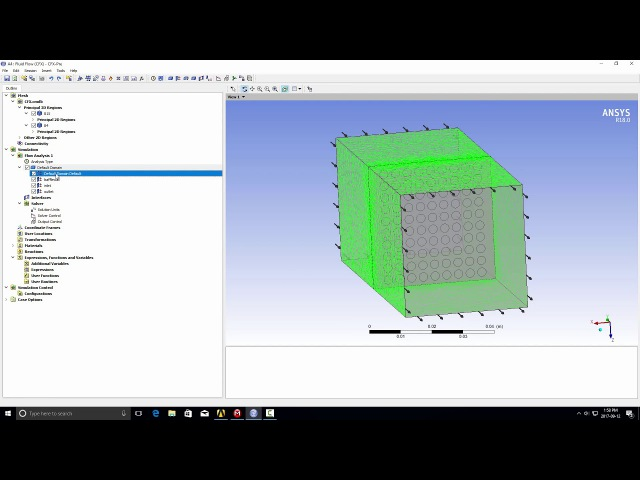 How to set boundary conditions for thin wall models in ANSYS CFX