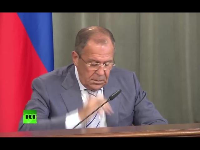 кто подставил министра Лаврова?