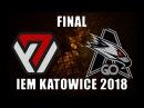 🔴AVANGAR vs AGO @ 1 map de_train 🏆 HIGHLIGHTS 🏆 IEM Katowice 2018 Qualifier