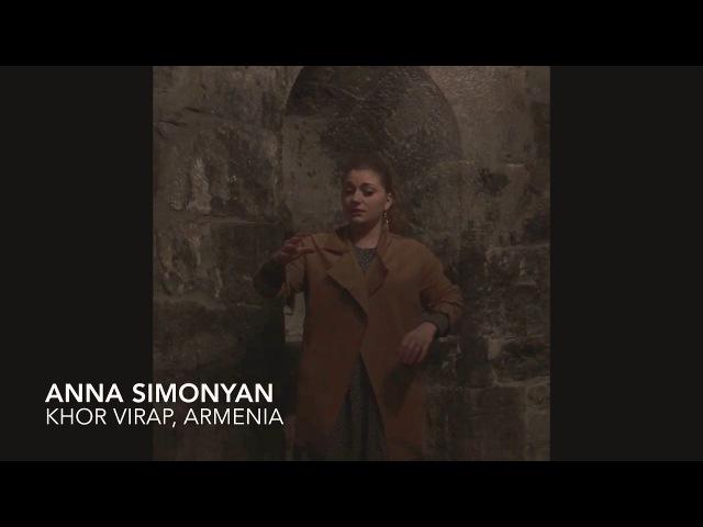 """KHOR VIRAP , Armenia Anna Simonyan """"OTAR amai jamneki vra"""""""