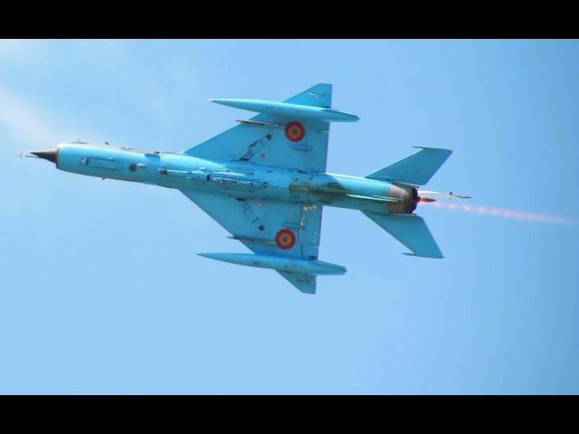 *Bonus video* Romanian Air Force MIG-21 LanceR BIAS training 19 June 2015 - sunny