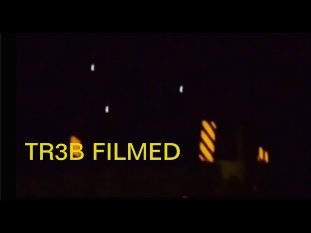 TR3B CAPTURED ON FILM - A COMPILATION - WATCH IN FULL SCREEN