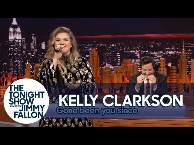 Kelly Clarkson Sings Since U Been Gone (Gone Been U Since) Backwards