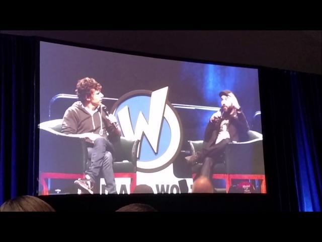 Wizard World Philadelphia Comic Con 17'-Michael Rooker Jesse Eisenberg Panel Highlights