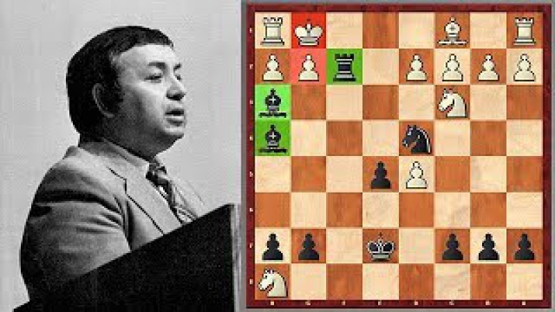 He Trained Karpov And Petrosian And Plays Like Tal