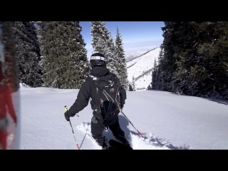 Весенний фрирайд в Акбулаке / Spring Akbulak Freeride - 50cm of powder