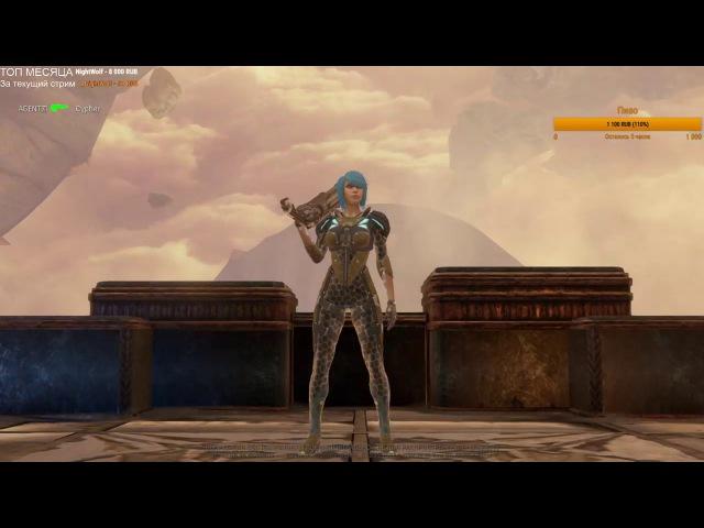 Quake Champions AGENT vs Cypher dm6