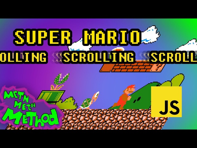 Code Super Mario in JS (Ep 6) - Scrolling