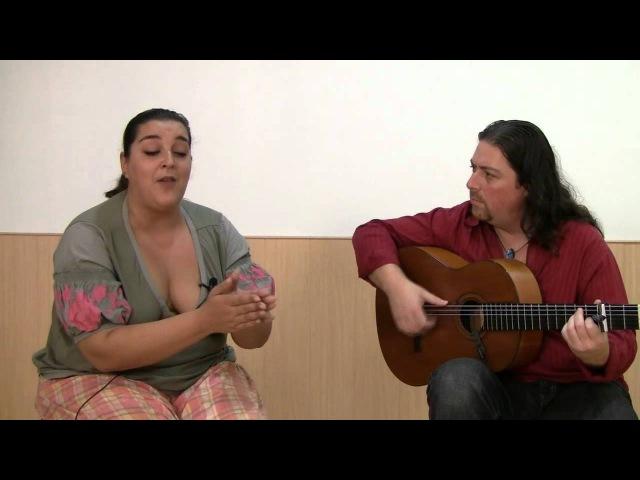 Cante por alegrías: Dos letras enteras