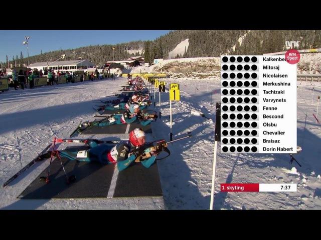 Biathlon - Women's Mass Start - Sjusjøen - SESONGSTART SKISKYTING 19/11/2017