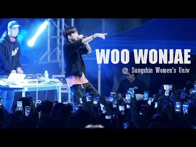 170927 우원재 라이브 풀영상 1440p [성신여대축제] WOO WONJAE LIVE Full Ver. | Filmed by lEtudel