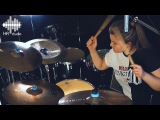 Royal Blood - Out Of The Black (Drum Cover by Olga Zinchenko live in HR studio)