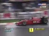 Jean Alesi V12 Ferrari 412T2 in 1995
