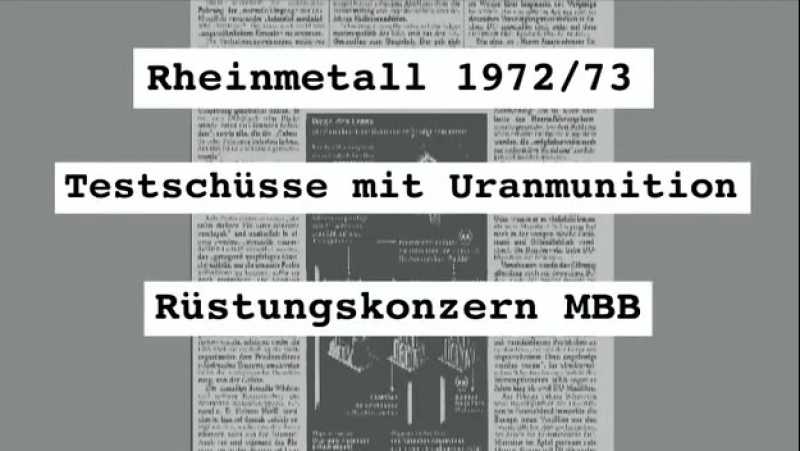 Deadly Dust - Todesstaub Uran - Munition und die Folgen