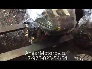 Отправка Двигателя Форд Фокус 2.0 AODA со склада в Москве клиенту в Санкт-Петербург