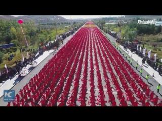 11 919 танцоров исполнили танец янгэ