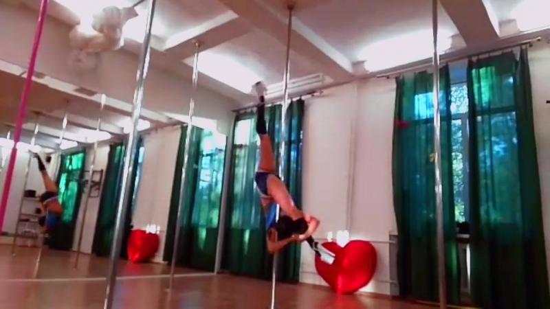 Exotic Pole Dance Юлия Николишина