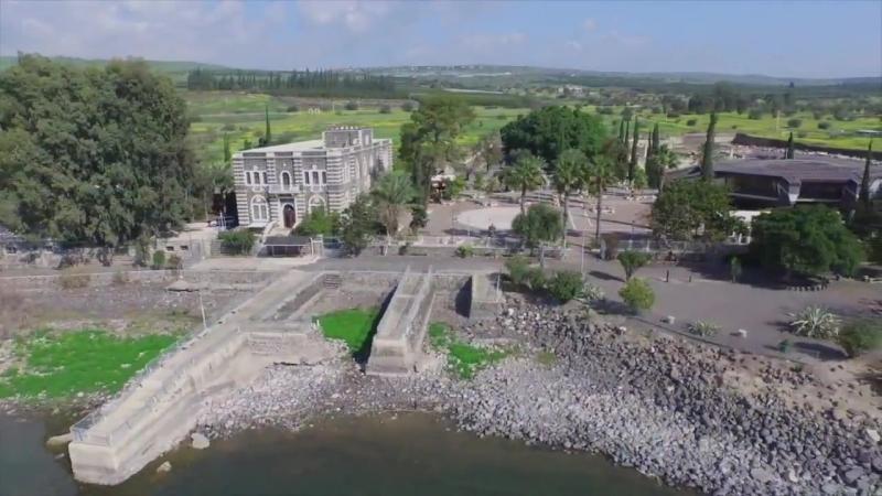 Капернаум и Тивериадское Озеро, Израиль Библейские Места