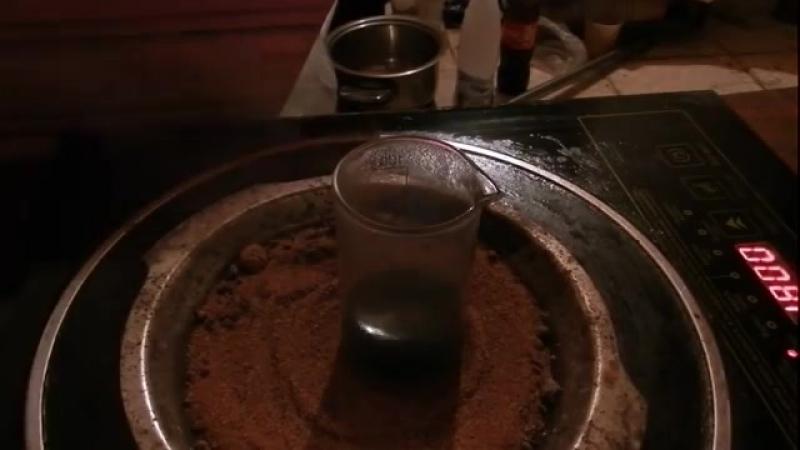 Осаждение золота из тиосульфатного раствора. Первый опыт