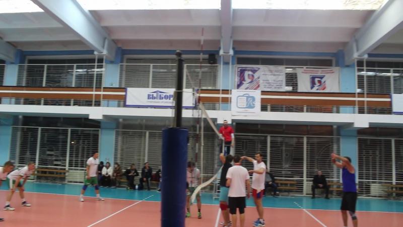 ЭФКО - Офисмаг - концовка 2-й партии (чемпионат 2017-2018)
