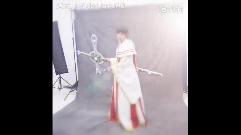 The King's Avatar Show - Стойкая скала, съемки промо, за кадром.