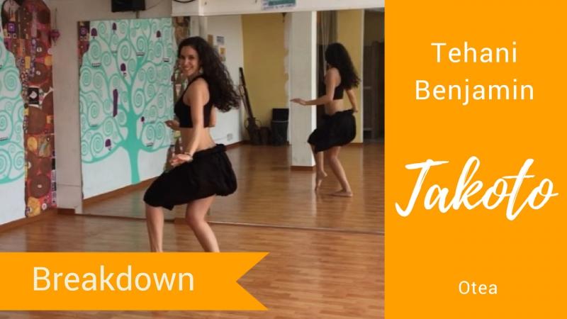 Tehani Benjamin - Otea - Takoto - Drum Beats of The Pacific - breakdown