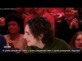 Timothée Chalamet and Armie Hammer on Quotidien (French interview) part 2 Rus(sub)