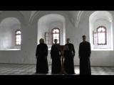 Хор Свято-Троицкого Александра Свирского мужского монастыря.Христос Воскресе