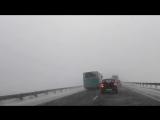 Бийск-Барнаул. Автобус мчит по встречке. 16.01.18