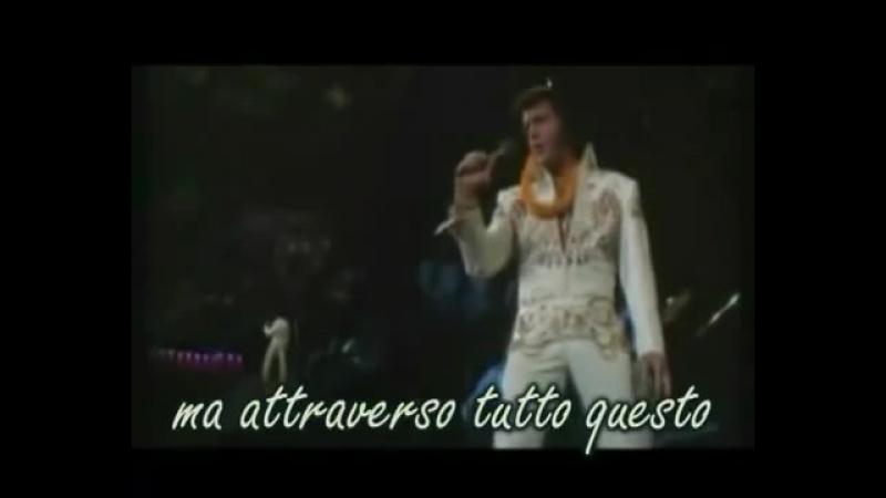 ELVIS - my way (con testo tradotto in italiano)